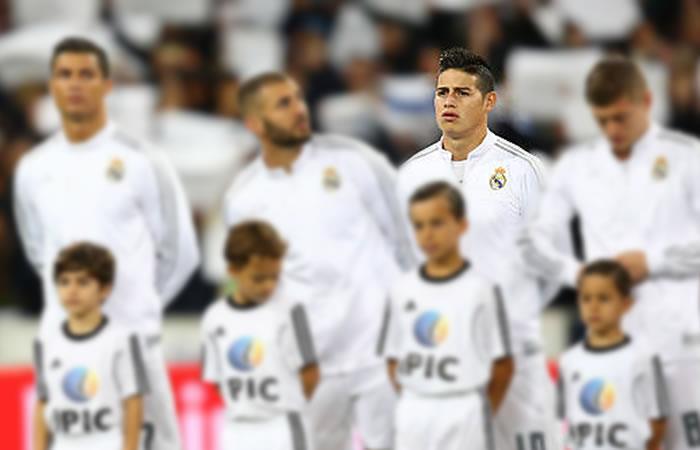 James Rodríguez felicitó a este jugador del Real Madrid por su cumpleaños