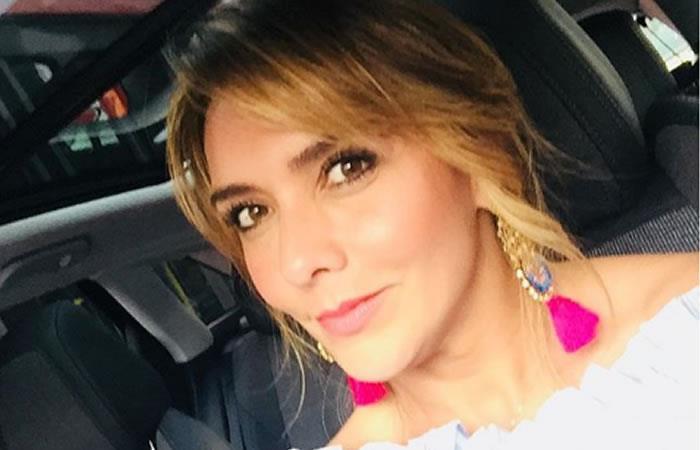 Mónica Rodríguez sufrió tremenda caída en vivo en 'Día a día'