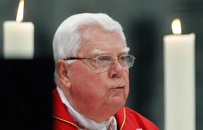 Murió el cardenal implicado en el más fuerte escándalo de la Iglesia