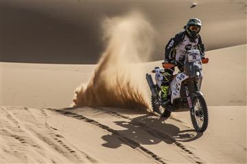 Santiago Bernal está listo para el Rally Dakar 2018