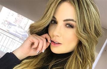 Sara Uribe erizó a más de uno con sensual lencería
