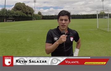Atlético Bucaramanga: Kevin Salazar es el principal refuerzo para la temporada 2018