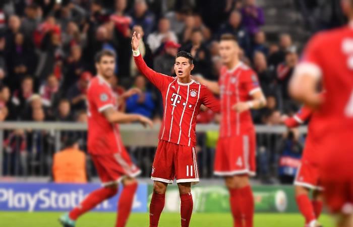 James Rodríguez tiene nuevo compañero en el Bayern Múnich