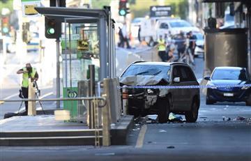 """Autoridades de Australia descartan """"terrorismo"""" en atropello masivo"""