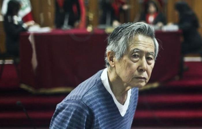 Alberto Fujimori pide la conmutación de su condena