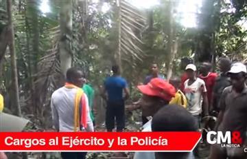 Por la masacre de campesinos en Tumaco la Fiscalía imputará cargos contra dos oficiales
