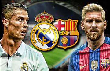 Real Madrid vs. Barcelona: Transmisión EN VIVO online