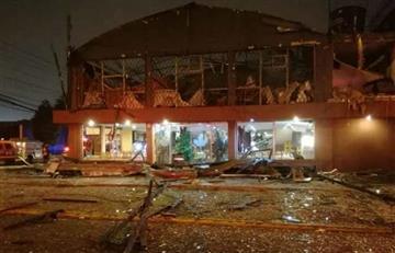 Dos muertos en Ecuador por explosión en un restaurante
