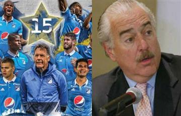 Millonarios nombró a Andrés Pastrana presidente honorario