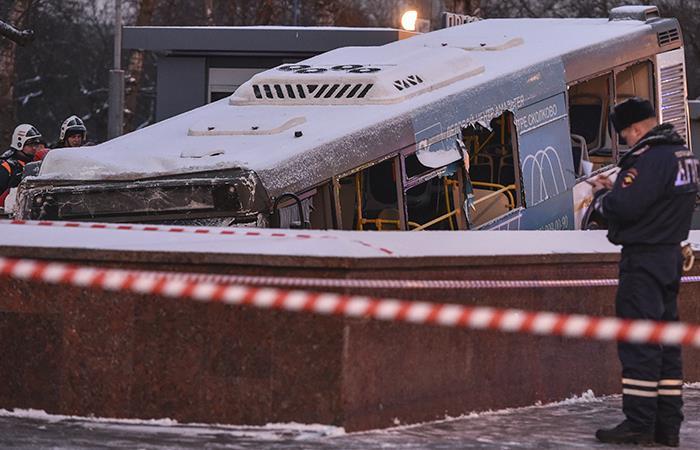 Moscú sufre un accidente que compromete a un bus y al subterráneo
