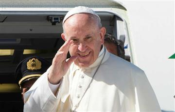 """Papa Francisco deplora situación de niños que tienen que """"abandonar sus países"""""""