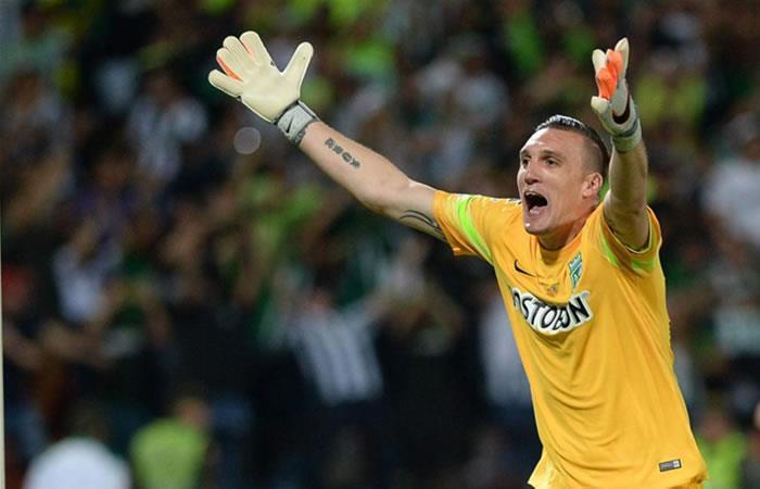 Atlético Nacional: Contundente respuesta sobre el futuro de Franco Armani