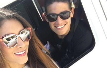James Rodríguez y Daniela Ospina vistos juntos en Santa Marta