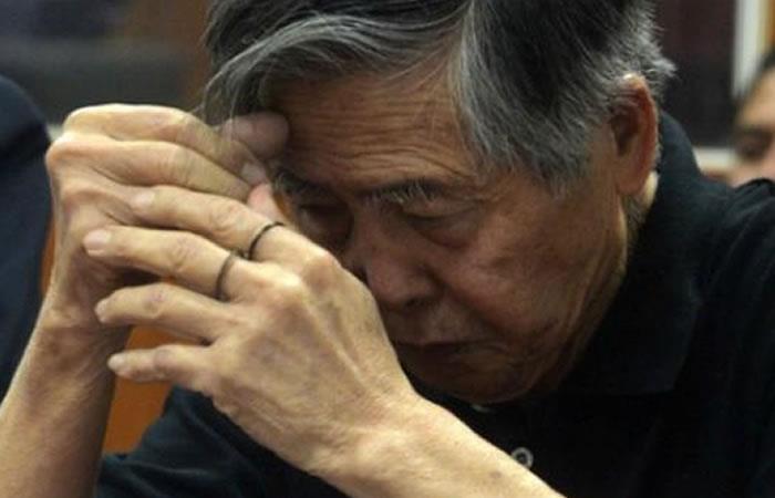 Tras ser indultado, Fujimori pidió
