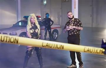 Farruko, Nicki Minaj, Bad Bunny y novio de Kylie Jenner causan revuelo en video