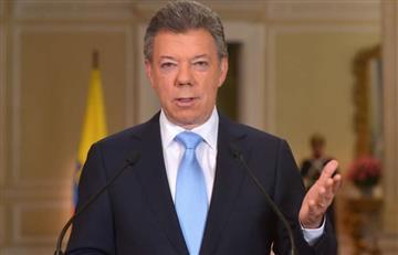 """La """"enfermedad mental"""" que padece Colombia según Santos"""