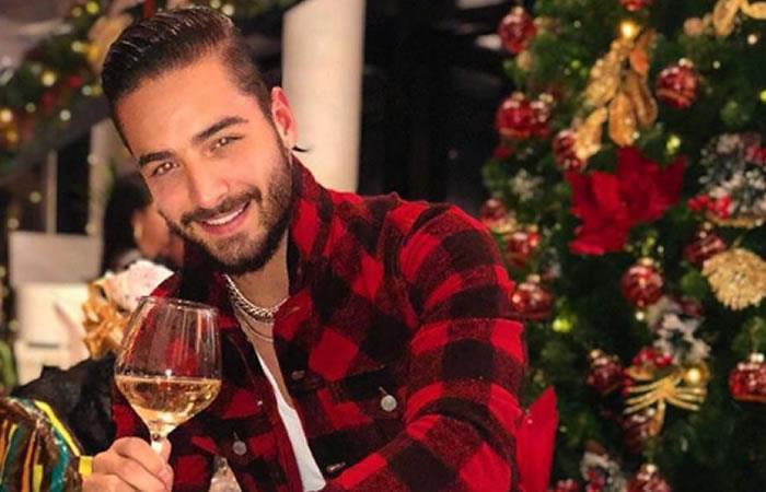 Maluma se vistió de Santa y causa furor en redes