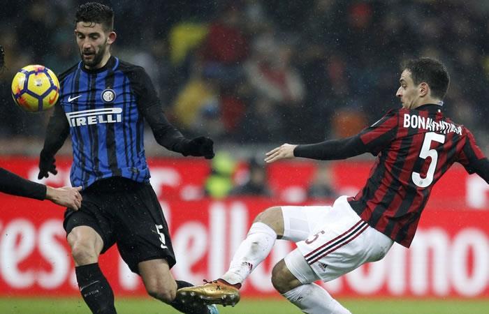 Milan venció al Inter en el clásico y clasificó a semifinales de la Copa de Italia