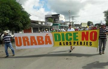 Paro cívico en Urabá inició este miércoles