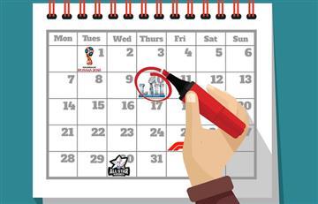 Calendario de los eventos deportivos para 2018