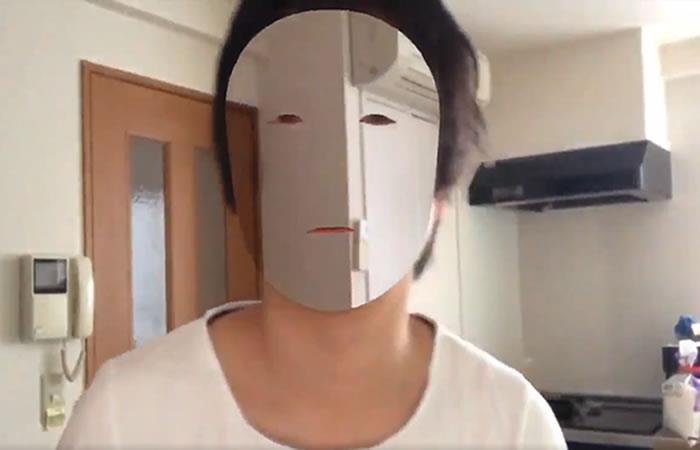 iPhone X: Desarrollador hizo su cara invisible con el dispositivo