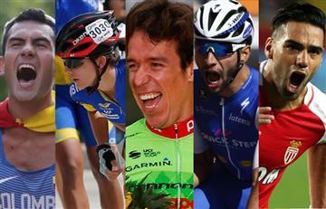 ¿Quién es el deportista colombiano del 2017?