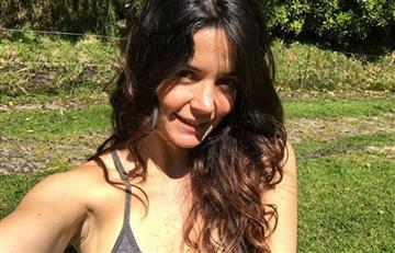 Video: Maleja Restrepo mostró su abdomen a días de dar a luz