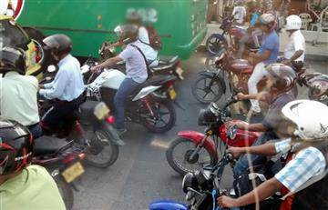 Barranquilla: Alcaldía prohíbe permanentemente parrillero en moto, al norte de la ciudad