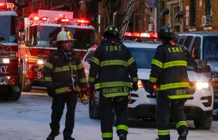 Incendio en Nueva York  fue causado por un niño