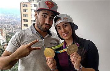Mariana Pajón defendió a su hermano Miguel Pajón tras dura crítica de tuitero
