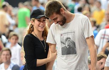 Piqué enfrenta a paparazzi para defender a Shakira y a sus hijos