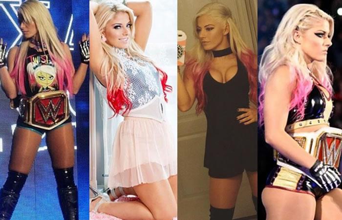 WWE: Alexa Bliss la luchadora más sexy de Instagram