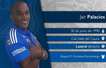 Millonarios: Jair Palacios extiende su contrato con el club hasta el 2020