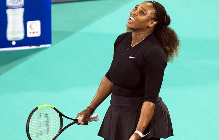 Serena Williams regresó a las canchas... y perdió