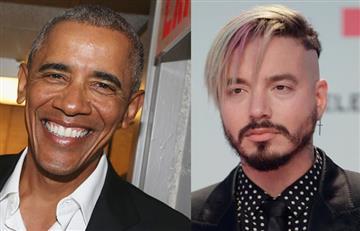 """Barack Obama: """"Una de mis cancionesfavoritas del 2017 fue 'Mi Gente' de J Balvin"""""""