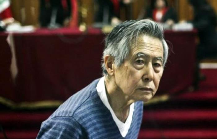 Fujimori sigue hospitalizado y en reposo absoluto