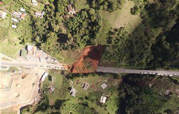Por derrumbe se encuentra cerrada la Vía Medellín -Santa Fe de Antioquia