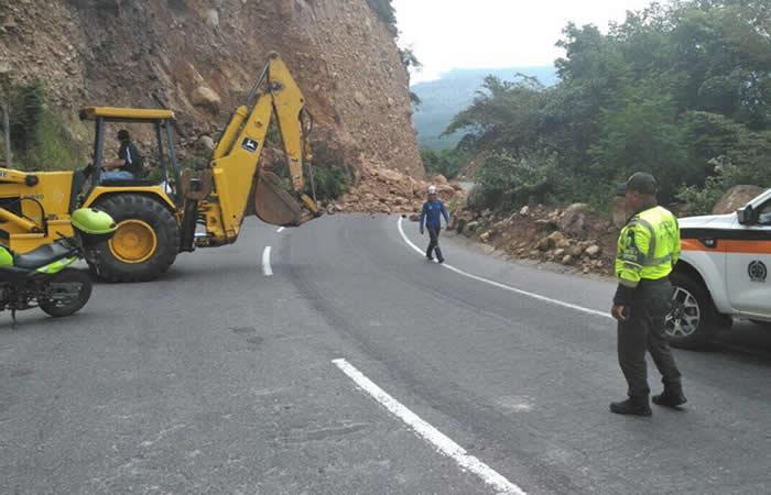 Calzada Bogotá - Girardot mantiene paso restringido