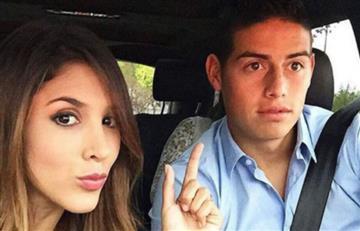 ¿James Rodríguez y Daniela Ospina juntos en año nuevo?, estas fotos los delatan