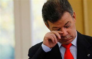 Presidente Santos fue chiflado en Cartagena