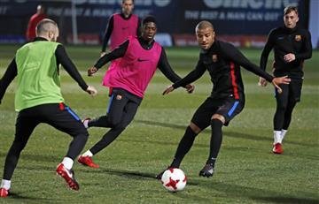 Copa del Rey: Dembelé, listo para volver a actuar con Barcelona