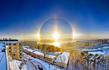 NASA resuelve misterio del 'ángel' que surgió en cielo de Suecia