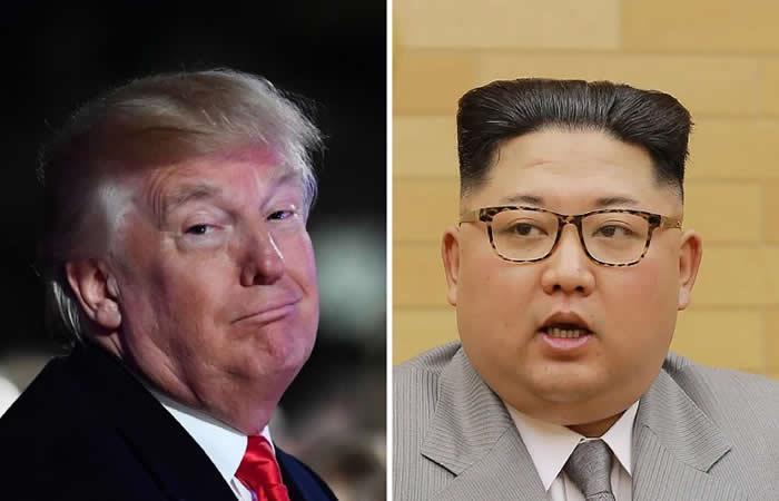 Trump amenaza a Corea del Norte con un botón nuclear