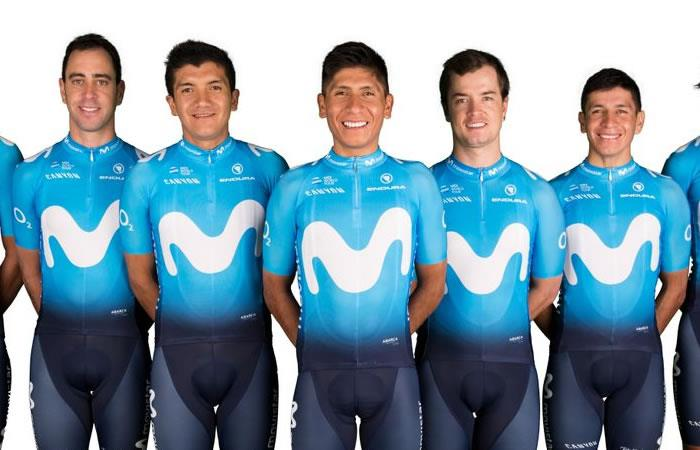 Movistar Team ratifica que Nairo Quintana sigue siendo el líder