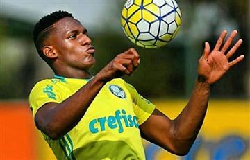 Yerry Mina: El Barcelona lo quiere pero Palmeiras quiere retenerlo