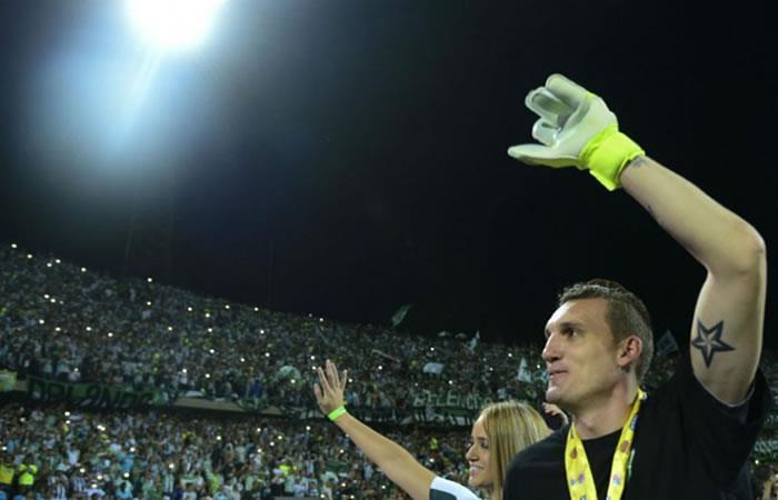 Franco Armani: Transmisión EN VIVO de su despedida de Atlético Nacional