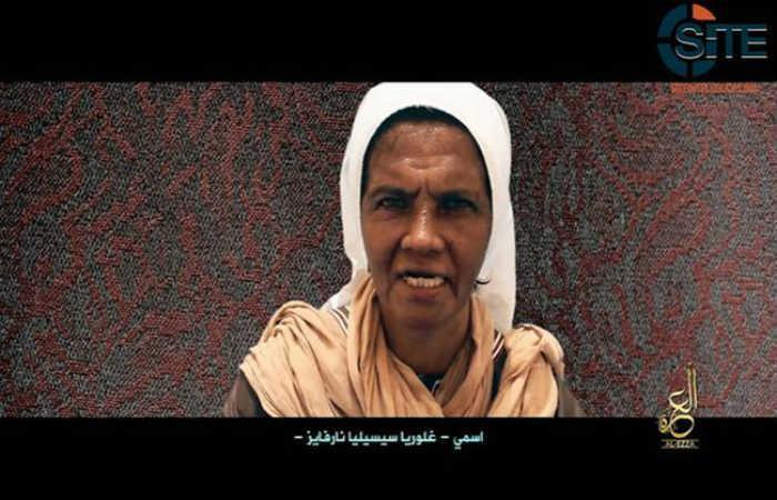 Yihadistas exigen dinero para liberar a la monja colombiana