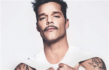 Ricky Martin enciende las redes con esta fotografía