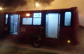 TransMilenio: Primer incendio en el año de un bus del sistema