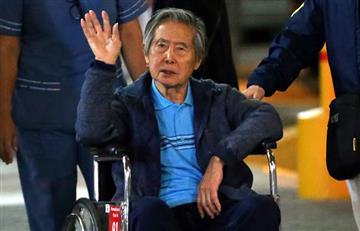Fujimori y su mensaje de paz a Perú
